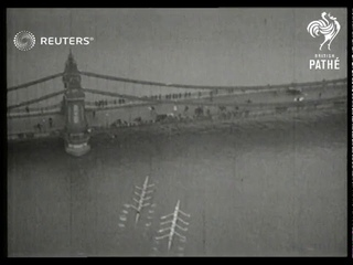 1936 boat race on the Thames (1936)