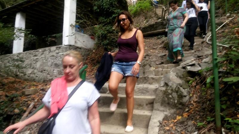 Qebele Yeddi Gozel shelale, Waterfall 20180823
