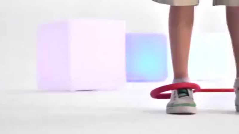 Нейроскакалка на ногу С 38841 100 5 цветов СО СВЕТОМ 1 шт в кульке 360p mp4