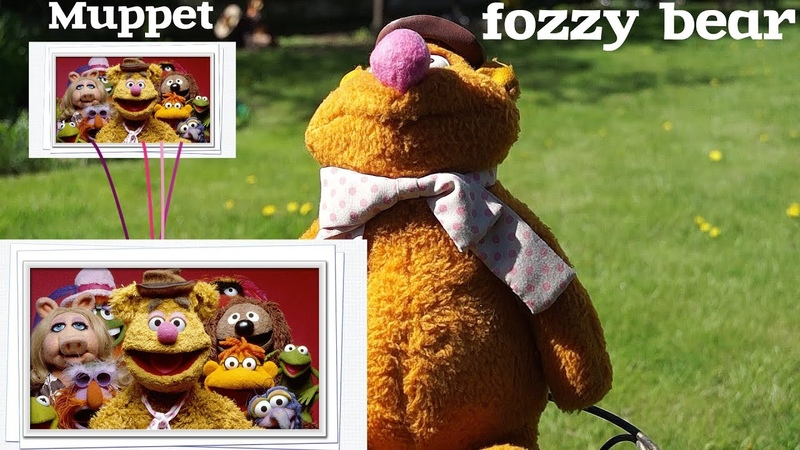 Zorinas tv Обзор на медвежонка Фоззи из Маппет шоу от Fisher Price 1976 года fozzy bear Smokey Bear
