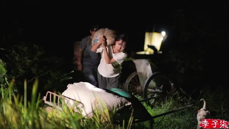 月儿圆圆,稻米飘香,正逢农家收谷忙Full Moon Fragrance of Ripe Rice Farmers Busy Harvesting Crops ¦ Liziqi Channel