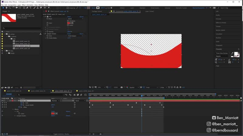 Looping Spiral Animation with Buck Animator Bernd Bousard After Effects Tutorial