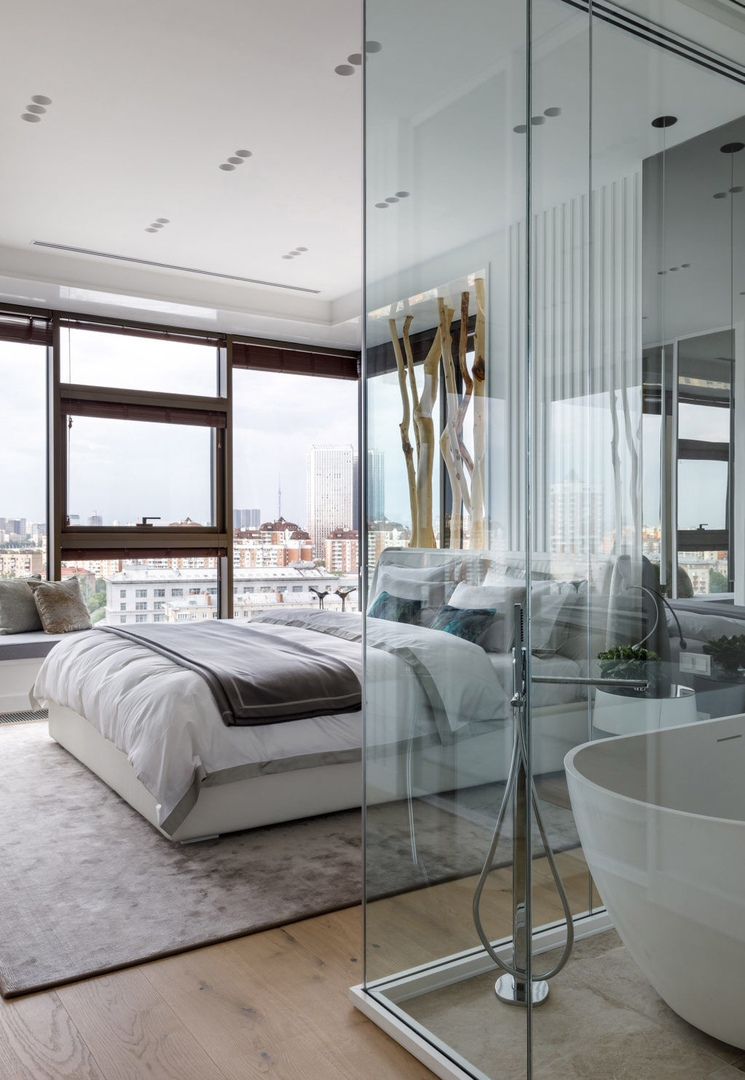 Квартира в московской новостройке от Инны Макаровой, 160 м² || 01