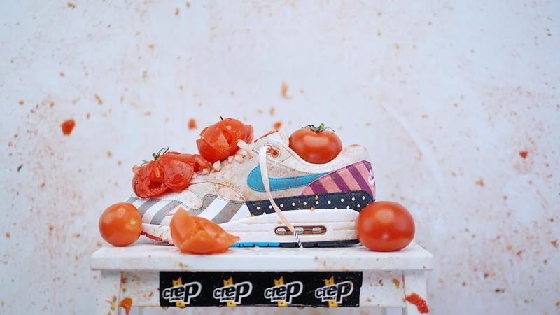 Parra Nike Air Max 1 VS Tomato - La Tomatina 2018 Extreme
