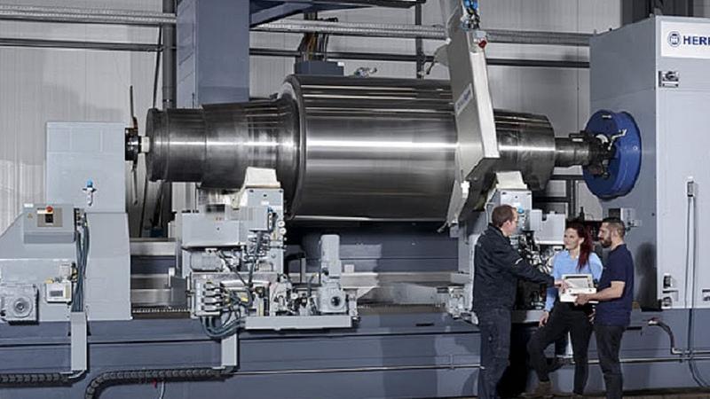 Dangerous Biggest Heavy Duty Lathe Machine Working, Fastest CNC Lathe Milling Machine