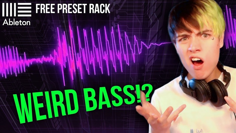 WEIRDEST BASS IN THE WORLD!? (STOCK PLUGINS) | Producing With MOONBOY