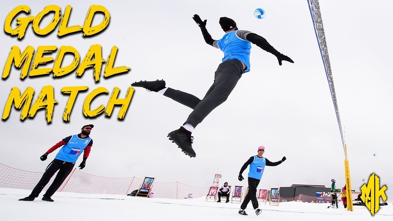 FIVB SNOW Volleyball FINAL USA vs. ARGENTINA | Gold Medal Match Bariloche, ARG