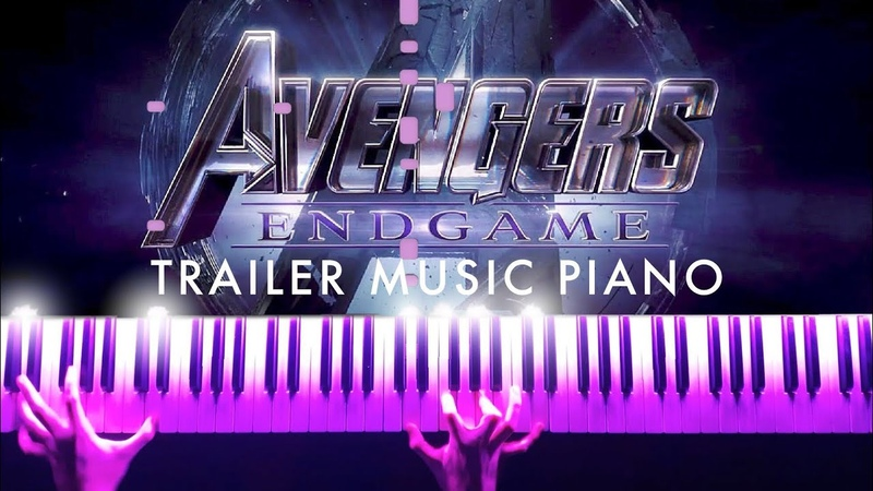 Avengers 4: Endgame - Official Trailer Music (Piano) SHEETS/SYNTHESIA