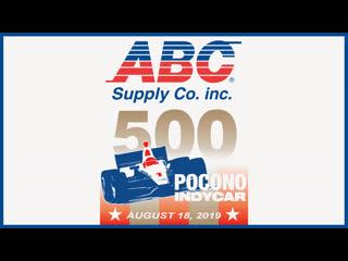 Abc supply 500 - pocono raceway