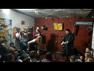 Михаил Башаков #концерт #квартирник #блюз #наИльинской #омск