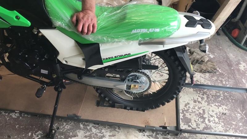 Распаковка и сборка мотоцикла Motoland 250