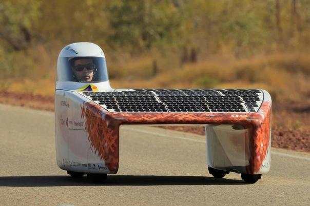 idgestone World Solar Challenge - самые известные в мире гонки автомобилей на солнечной энергии