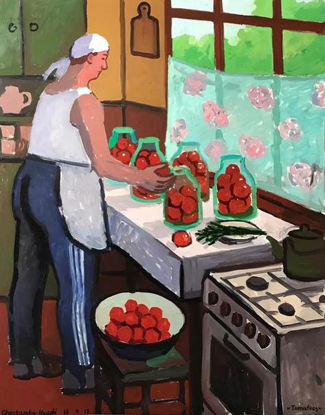 Зоя Черкасская-Ннади (англ. Zoya Cherassy-Nnadi ивр. זויה צרקסקי, р. 1976) израильская художница. В 15 лет Зоя со своей семьей эмигрировала из Киева в Тель-Авив.  Серию «Советское детство» я