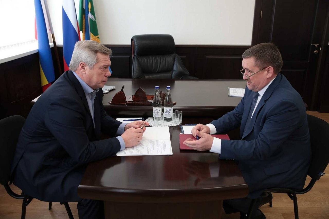 Губернатор Василий Голубев направил средства для социальных объектов Дона