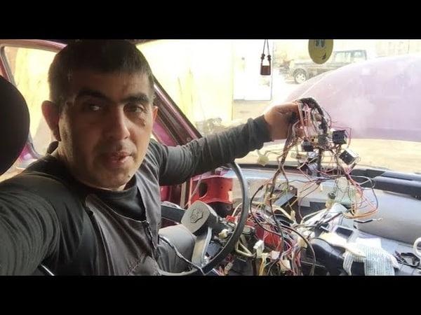 Avto Elektrik bildiyi Usta * Armaturşik çıxdı * Qazel 406 dan 402 yə peredelka şnurların dəyişilməsi