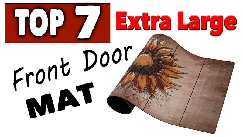 Best Extra Large Front Door Mat