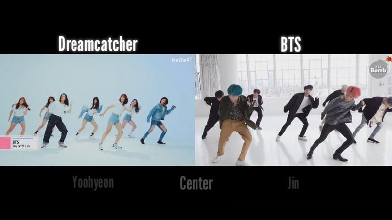 [Dreamcatcher] Who's center? 드림캐쳐가 커버한 남자아이돌 5팀은 누구?