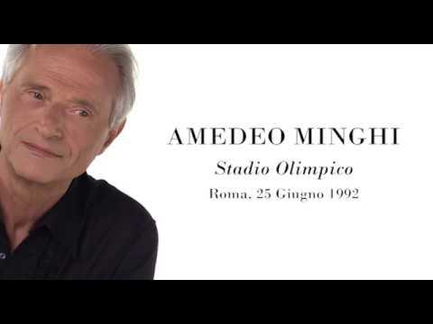 Amedeo Minghi in concerto - Stadio Olimpico di Roma, 25 giugno 1992