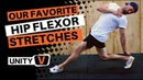 Flexibility Training For Hip Flexors Loaded Stretch Demonstration