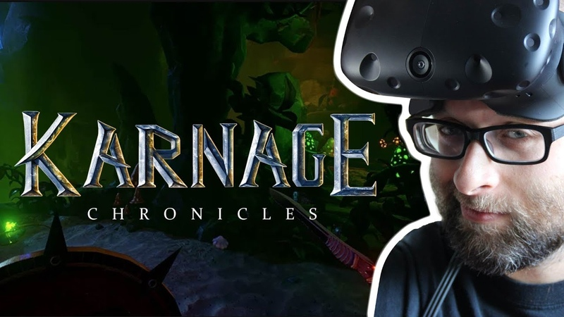 Karnage Chronicles Game Review HTC Vive