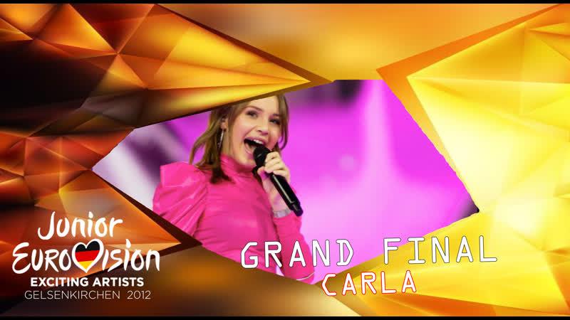 Carla - Bim Bam Toi - Interval Act - Grand Final - Junior Eurovision 2012