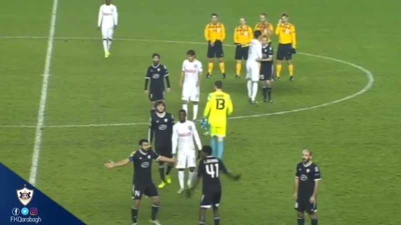 Незасчитанный гол Карабаха в матче с Интером