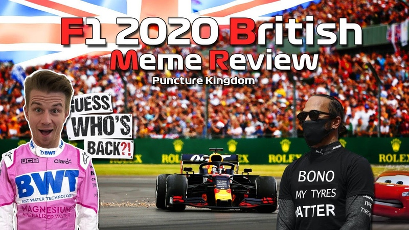 F1 2020 British Grand Prix Meme Review