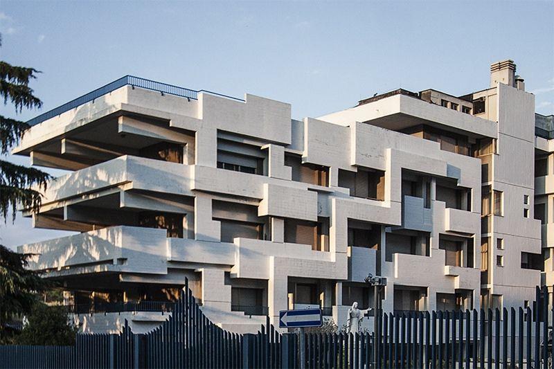 Edifici Pluriuso, Rome, Italy, 1971–1973