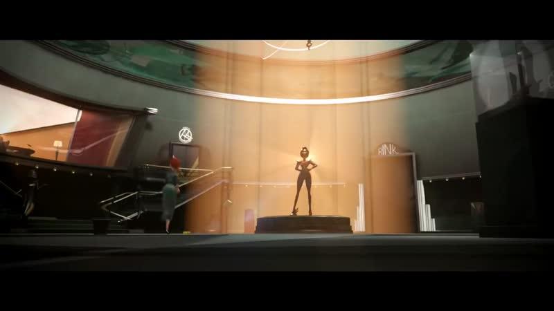 Joan Jett ~ Dirty Deeds Done Dirt Cheap (3D animated ~ Free Wheel )