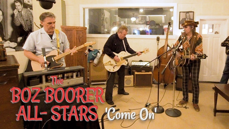 'Come On' SONNY GEORGE w the BOZ BOORER ALL STARS Sun Records Memphis BOPFLIX sessions