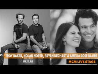 MCM Comic Con London 2019 Troy Baker, Nolan North, Bryan Dechart & Amelia Rose Blaire