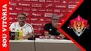 Notícias do Vitória Coletiva de Imprensa Paulo Carneiro apresenta o novo técnico do Vitória