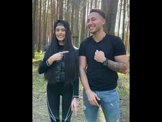 Милые Пинчук и Чобанян :-) Красивая пара