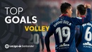 TOP 5 Goles de Volea LaLiga Santander 2018/2019