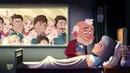Charlie Waitress Cartoon