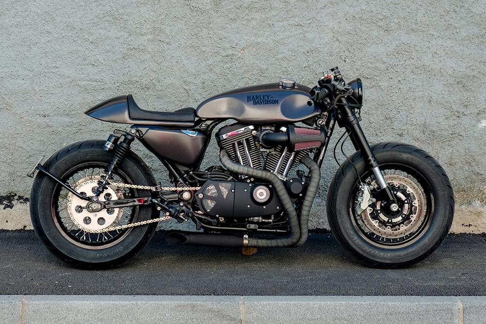 RC Dept: кафе рейсер Harley-Davidson Sportster