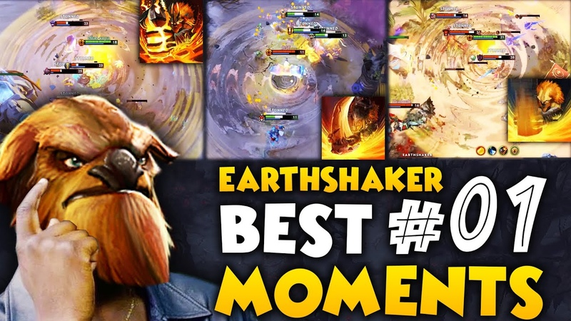 Dota 2 Best Moments Ep. 01 [EarthShaker Echo Slam] | Pro Edit 1440p