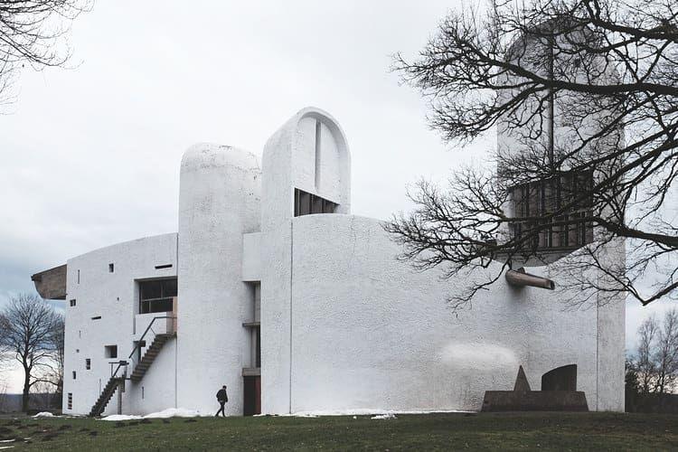 Le Corbusier / Ronchamp-France/Fransa