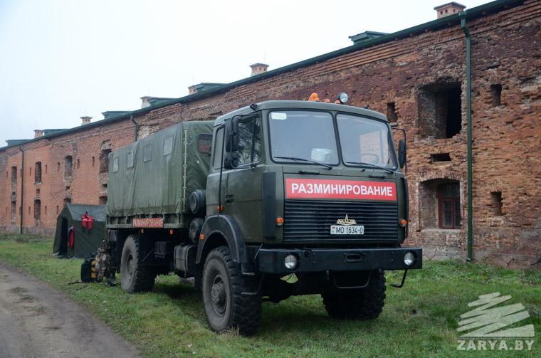 Пропавший танк «Валентайн» ищут на дне Буга в Брестской крепости