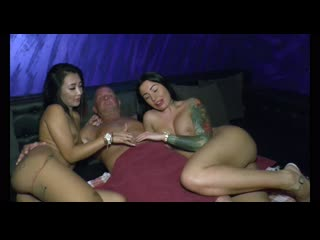 Threesome sex with germany asian girl and old men(interracial,porn,азиатки,порно)