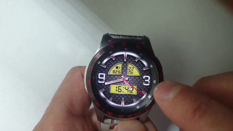 STEEL CUSTOM WW21 Multilang watchface for Samsung Gear Samsung Galaxy watch