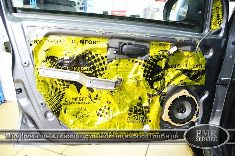Шумоизоляция Nissan Note, изображение №8