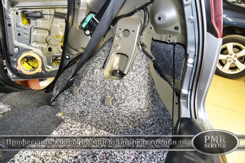 Шумоизоляция Nissan Note, изображение №14