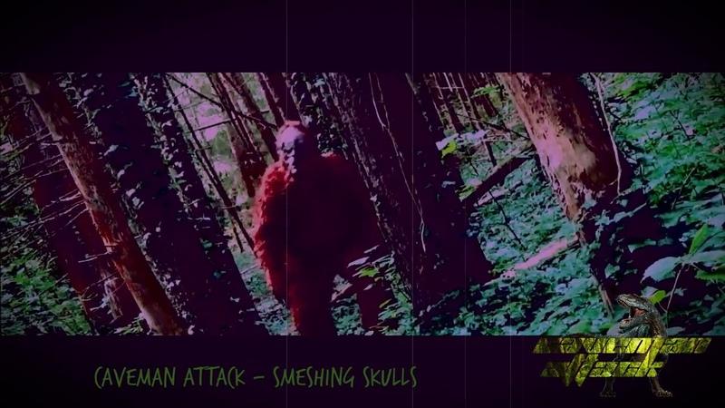 Caveman Attack Smeshing Skulls A Big Foot Shortfilm