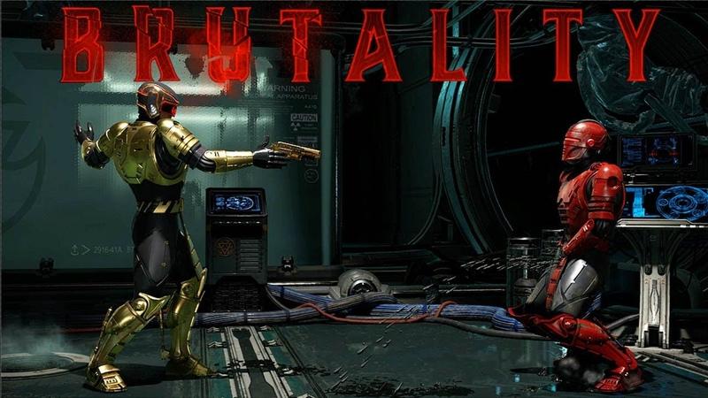 Mortal Kombat 11 All RoboCop BRUTALITIES @ 1440p 60ᶠᵖˢ