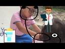 Main Dokter Dokteran Sama Adik Icel Permainan Anak Anak