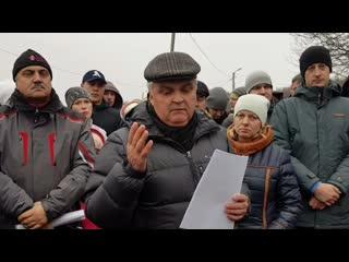 Мэр Саранска в Николаевке