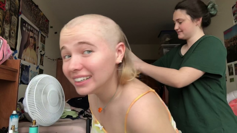 That time I shaved my head