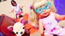 Ayşe Gül ile parka gidiyor! Çocuk oyunları. Bebek bakma videosu