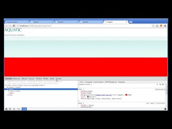 Видеокурс HTML CSS Урок 8 Верстка веб страницы